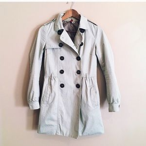 Divided Classic Short Trench Coat